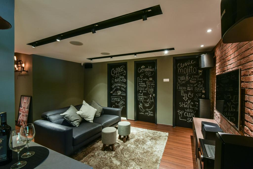 Modern, Landed, Living Room, Valencia, Sungai Buloh, Interior Designer, Surface R Sdn. Bhd., Contemporary
