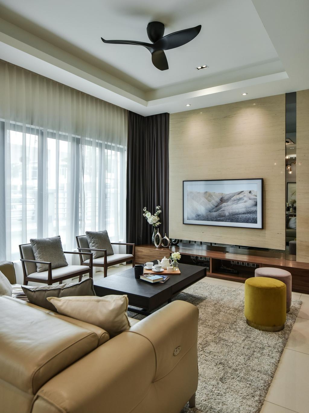 Modern, Landed, Bandar Bestari, Klang, Interior Designer, Surface R Sdn. Bhd., Contemporary