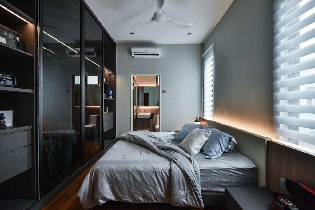 Modern, Landed, Bedroom, Bandar Bestari, Klang, Interior Designer, Surface R Sdn. Bhd., Contemporary