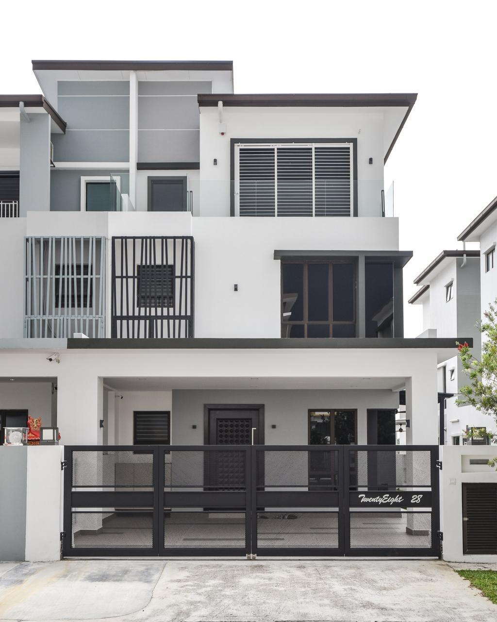 Modern, Landed, Setia Alam, Interior Designer, Surface R Sdn. Bhd., Contemporary
