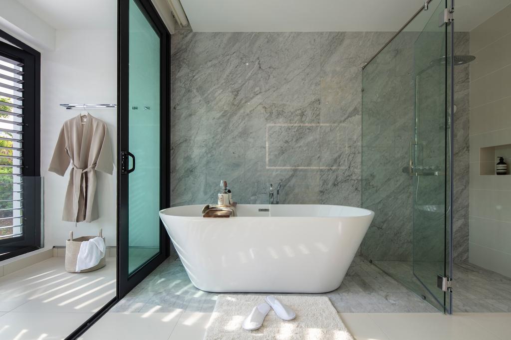 Modern, Landed, Bathroom, Alam Impian, Setia Alam 2, Interior Designer, Surface R Sdn. Bhd., Contemporary