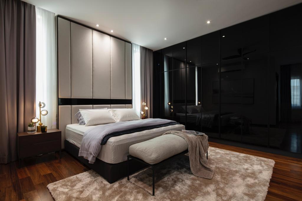 Modern, Landed, Bedroom, Alam Impian, Setia Alam 2, Interior Designer, Surface R Sdn. Bhd., Contemporary