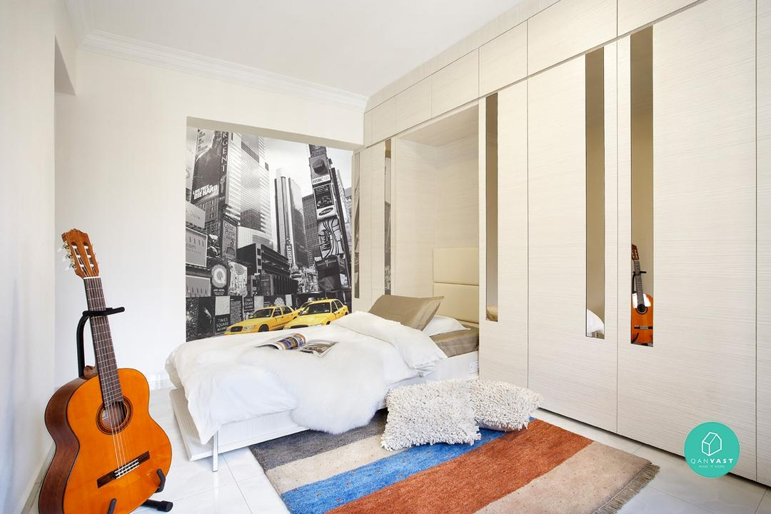 10 Creative Space-Saving Solutions For Small Homes 14
