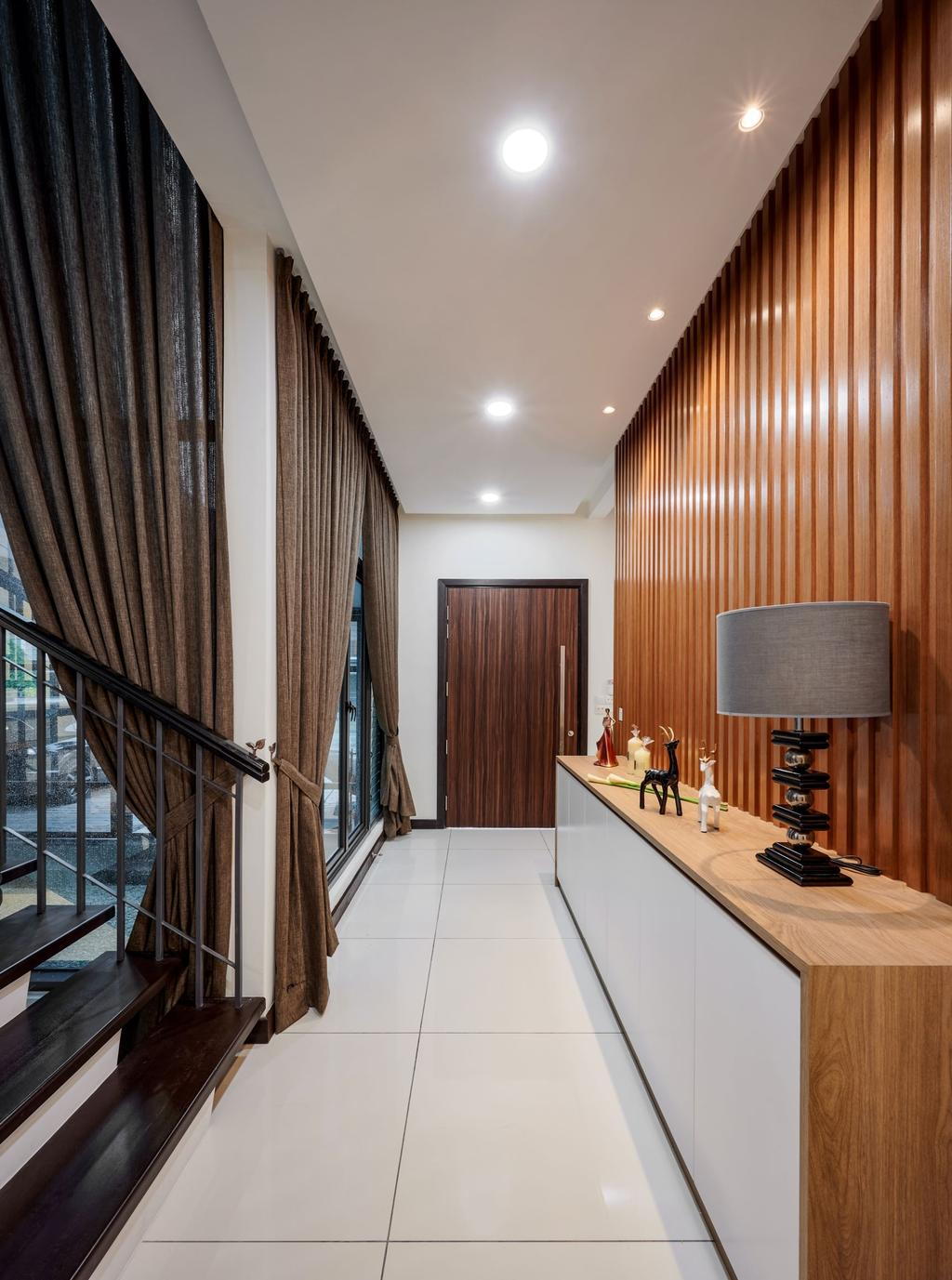 Modern, Landed, Elmina, Shah Alam, Interior Designer, Klaasmen Sdn. Bhd., Contemporary