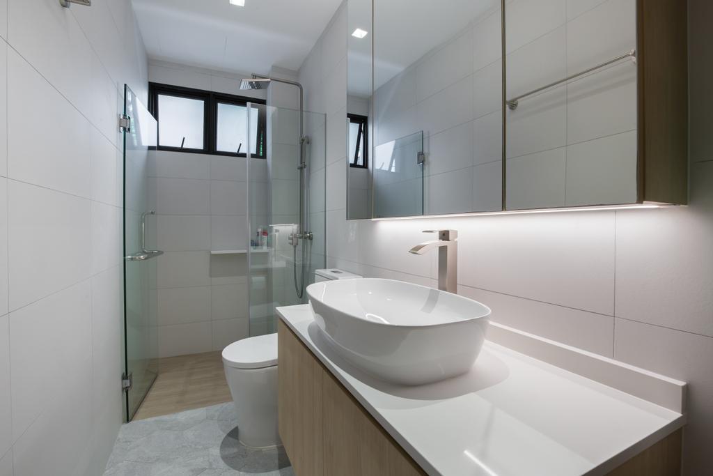 Contemporary, Landed, Bathroom, Toh Yi Road, Interior Designer, Dyel Design