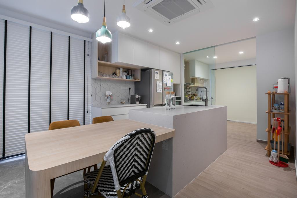 Contemporary, Landed, Kitchen, Toh Yi Road, Interior Designer, Dyel Design