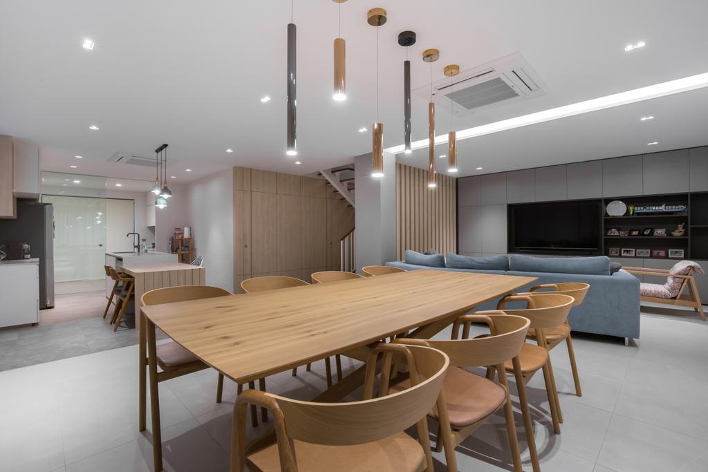 Contemporary, Landed, Dining Room, Toh Yi Road, Interior Designer, Dyel Design