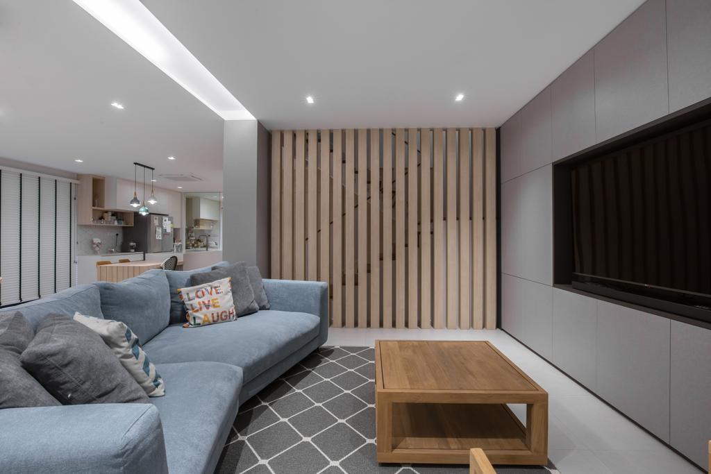 Contemporary, Landed, Living Room, Toh Yi Road, Interior Designer, Dyel Design