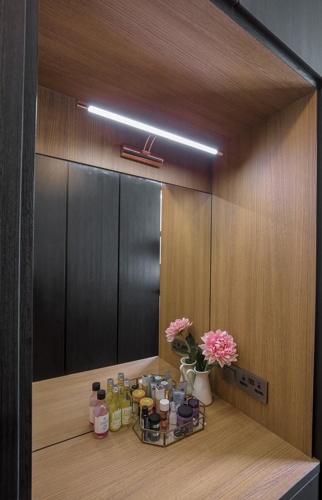 Contemporary, HDB, Bedroom, Senja Road, Interior Designer, Fifth Avenue Interior, Modern