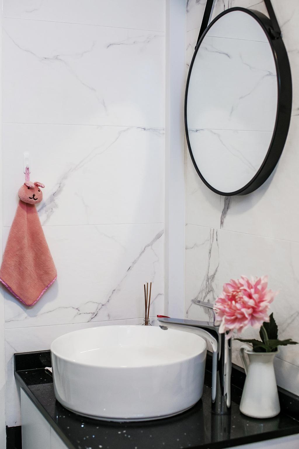 Contemporary, HDB, Bathroom, Senja Road, Interior Designer, Fifth Avenue Interior, Modern