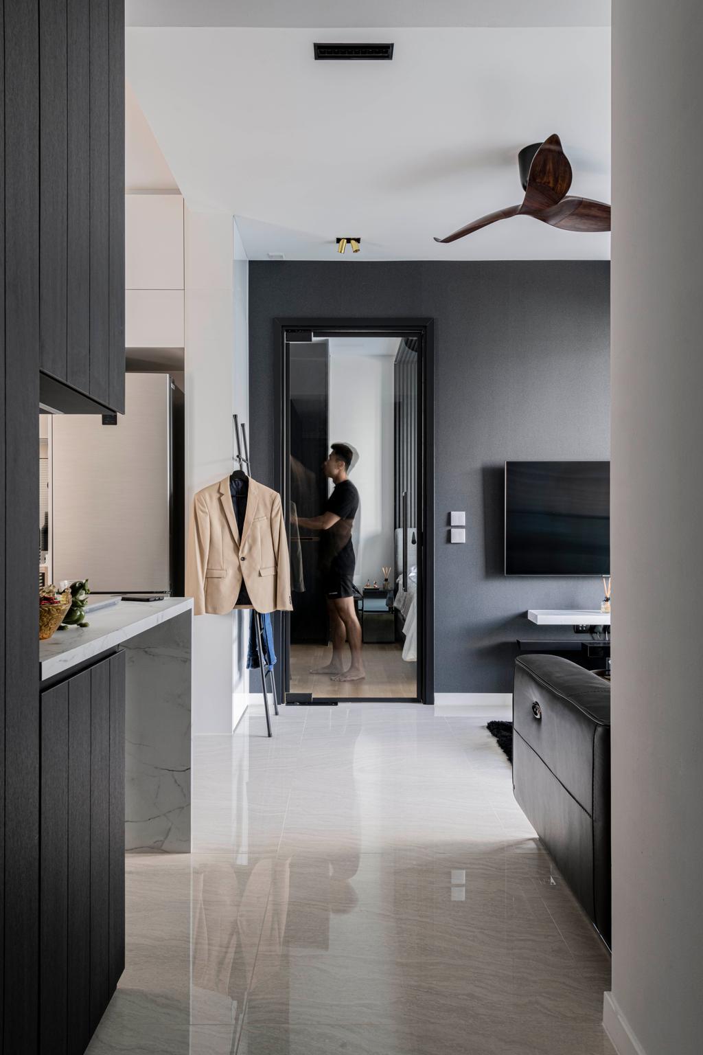 Contemporary, Condo, Living Room, Stars of Kovan, Interior Designer, Fifth Avenue Interior