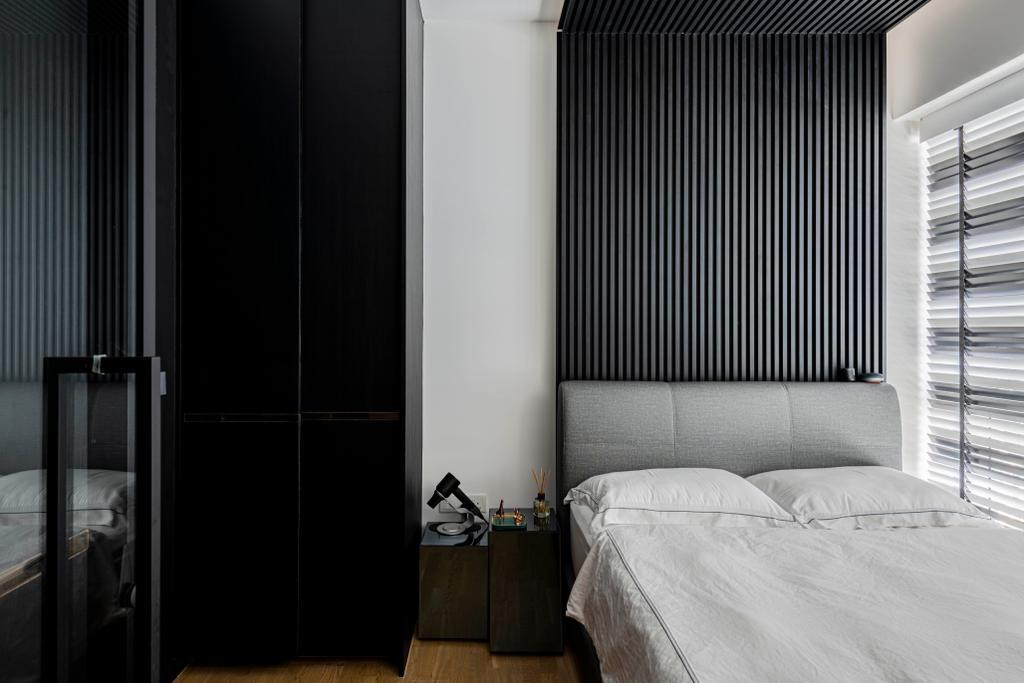 Contemporary, Condo, Bedroom, Stars of Kovan, Interior Designer, Fifth Avenue Interior
