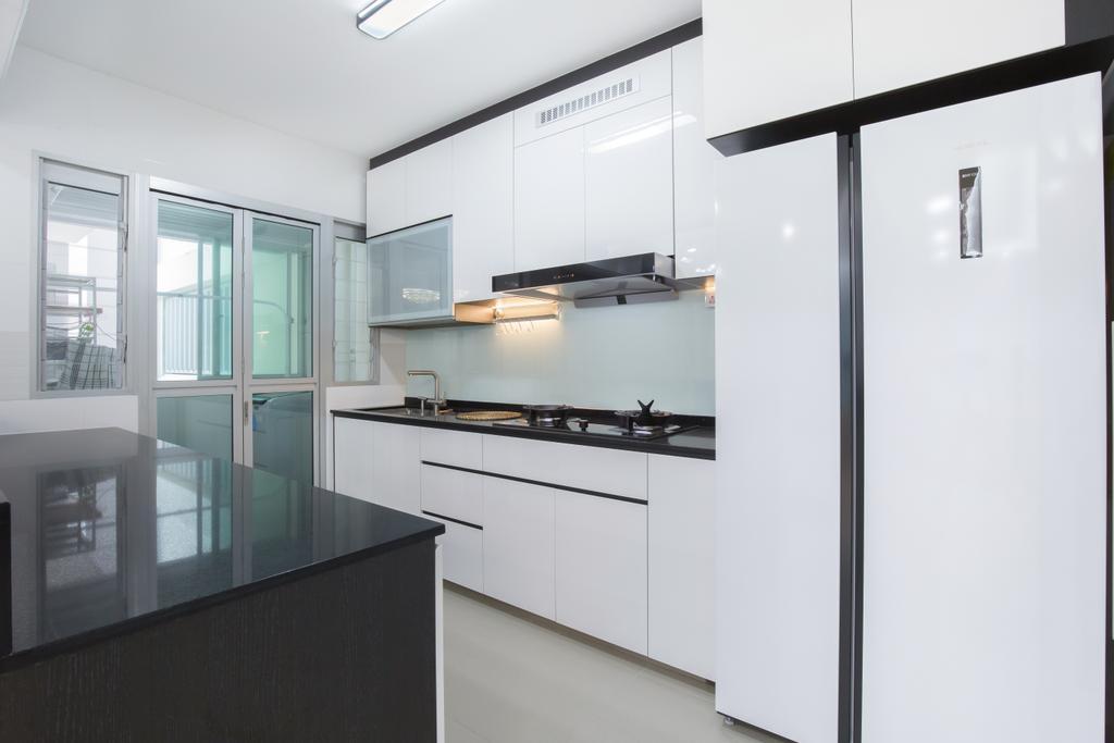 Modern, HDB, Kitchen, Canberra Street, Interior Designer, APH Projects
