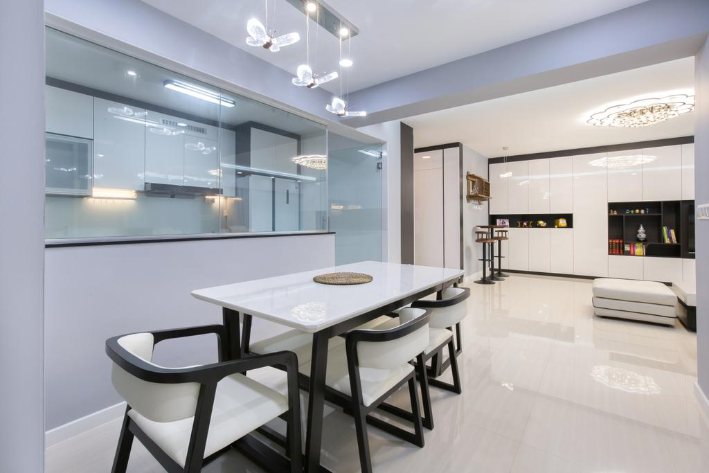 Modern, HDB, Dining Room, Canberra Street, Interior Designer, APH Projects