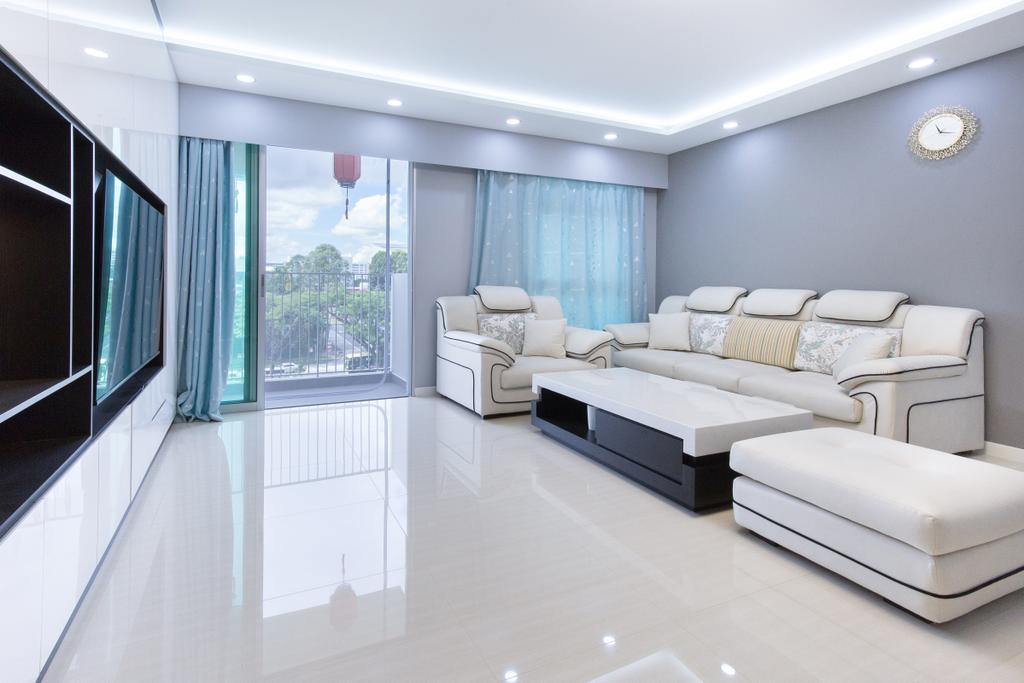 Modern, HDB, Living Room, Canberra Street, Interior Designer, APH Projects