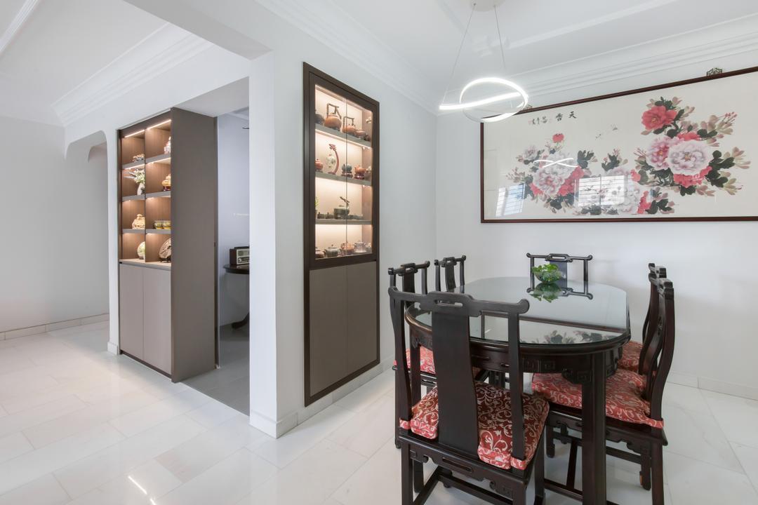 Bishan Street 13 Living Room Interior Design 4