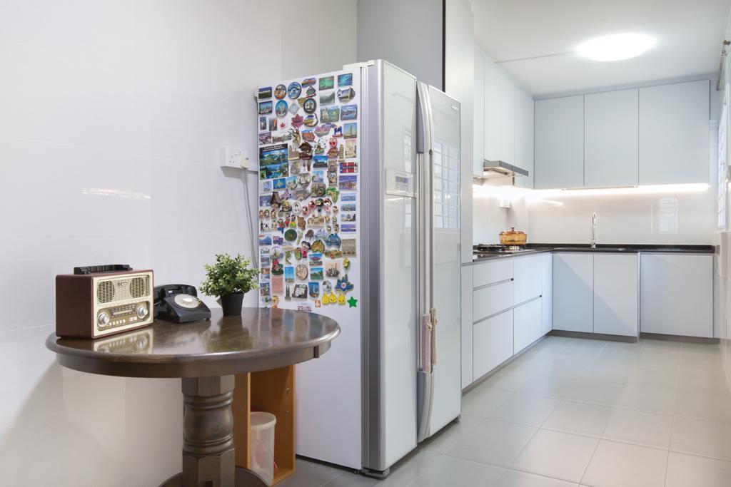 Contemporary, HDB, Kitchen, Bishan Street 13, Interior Designer, Inizio Atelier