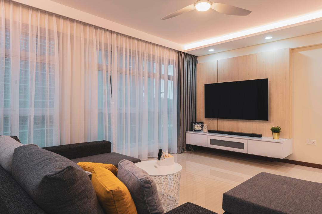 Canberra Street Living Room Interior Design 2