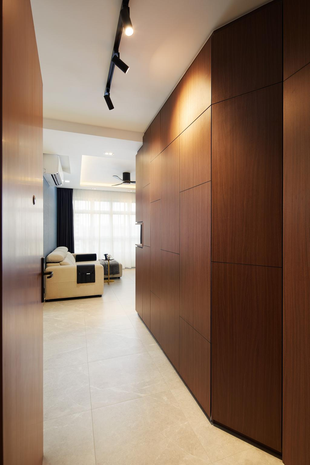 Contemporary, HDB, Living Room, Tampines North Drive 1, Interior Designer, Archiwu Interior