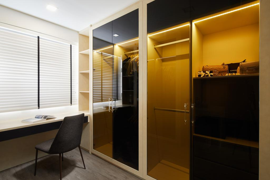 Contemporary, HDB, Study, Tampines North Drive 1, Interior Designer, Archiwu Interior