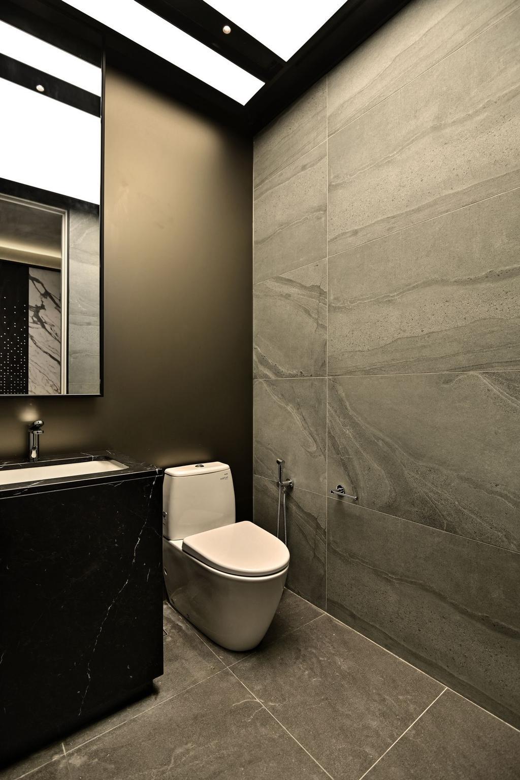 Contemporary, Condo, Bathroom, Mr. William's Residence , Park Seven KLCC, Interior Designer, SQFT Space Design Management, Modern