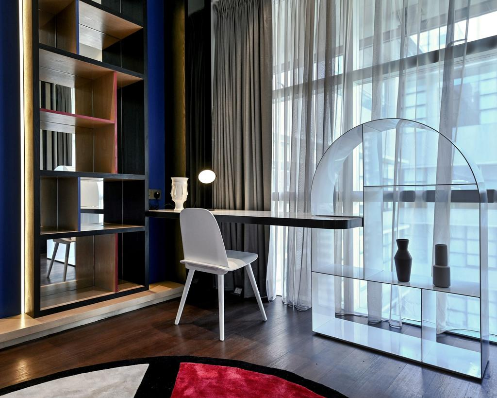 Contemporary, Condo, Study, Mr. William's Residence , Park Seven KLCC, Interior Designer, SQFT Space Design Management, Modern