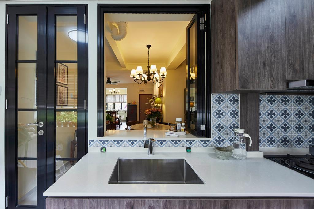 Transitional, HDB, Kitchen, Moh Guan Terrace, Interior Designer, The Interior Lab