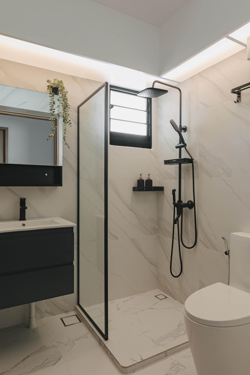 Scandinavian, HDB, Bathroom, Bukit Batok West Avenue 8, Interior Designer, ChengYi Interior Design