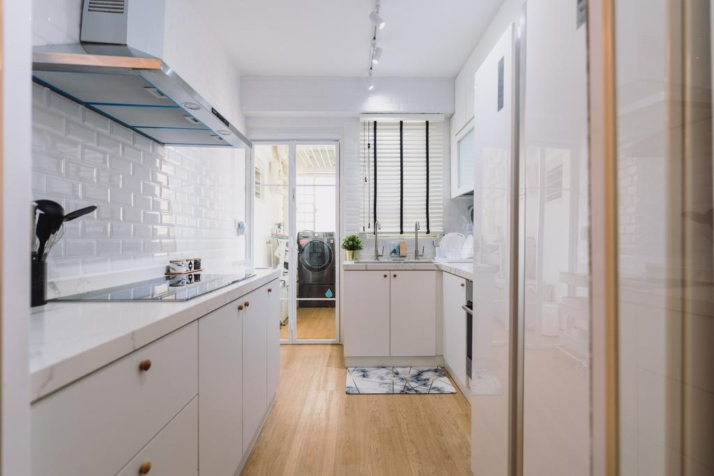 Scandinavian, HDB, Kitchen, Boon Tiong Road, Interior Designer, Artmuse Interior