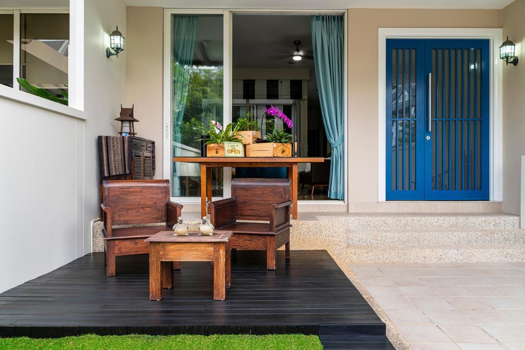 Contemporary, Landed, Balcony, Springside View, Interior Designer, Livspace