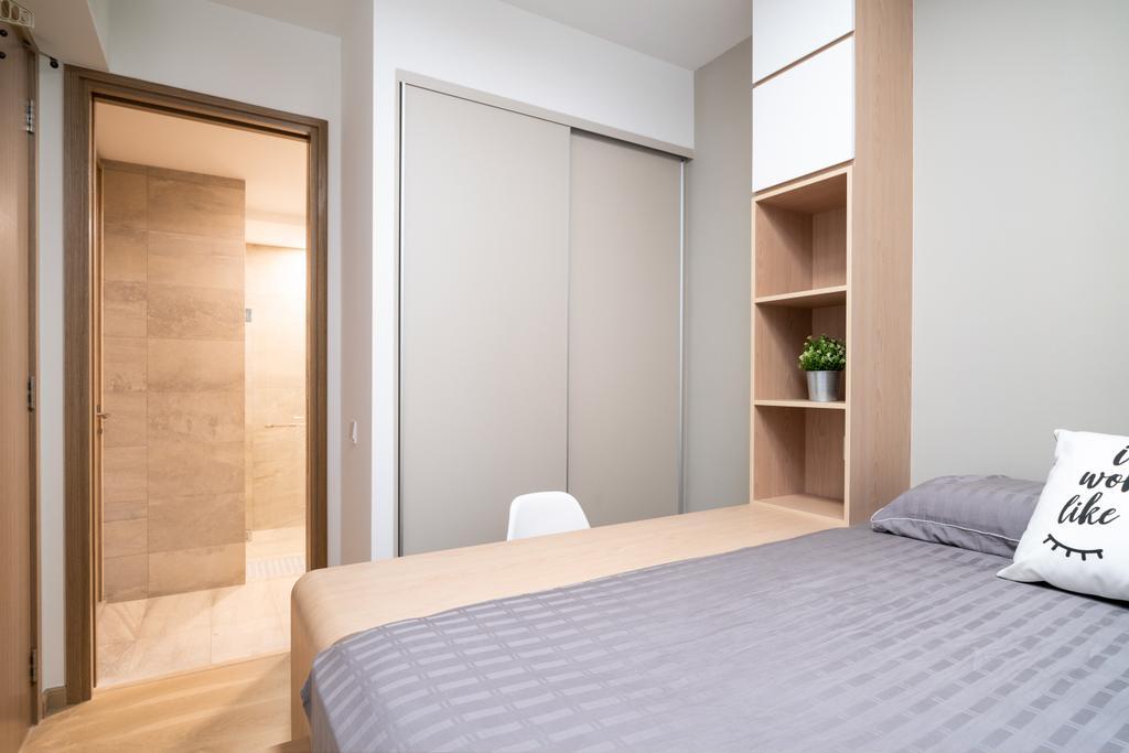 Scandinavian, Condo, High Park Residences, Interior Designer, Livspace, Contemporary