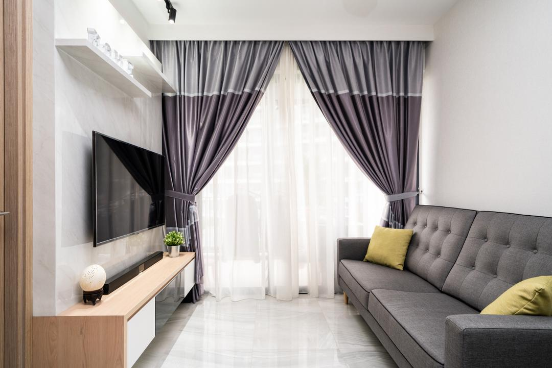 High Park Residences Living Room Interior Design 1