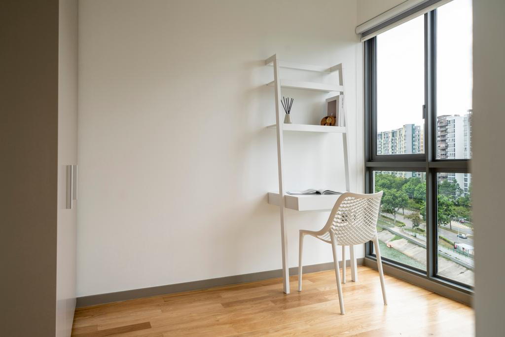 Contemporary, Condo, Bedroom, The Riversails, Interior Designer, Livspace