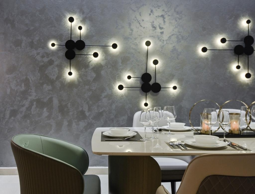 Modern, Landed, Dining Room, Scenaria Super Link 2, North Kiara Hill, Interior Designer, Amaze Design Sdn Bhd, Contemporary