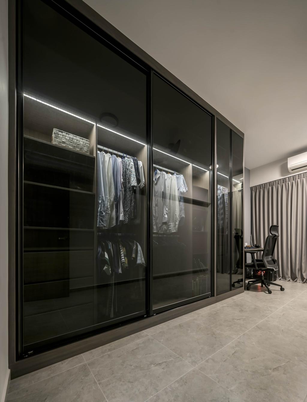 Contemporary, HDB, Bedroom, Simei Road, Interior Designer, Zenith Arc