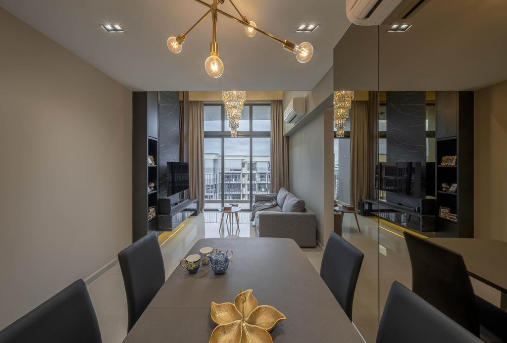 Contemporary, Condo, Dining Room, Yio Chu Kang Road, Interior Designer, Zenith Arc