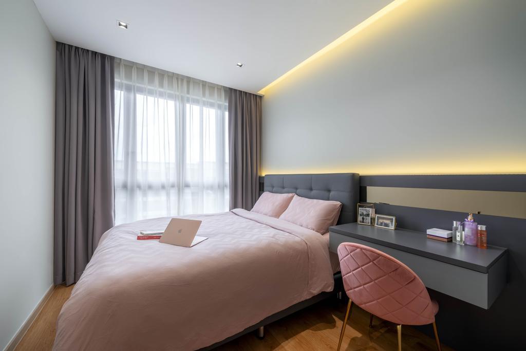 Contemporary, Condo, Bedroom, Yio Chu Kang Road, Interior Designer, Zenith Arc