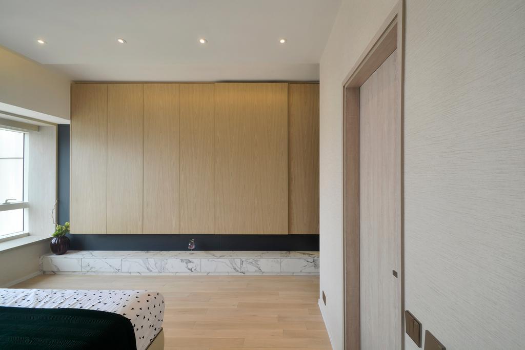摩登, 私家樓, 睡房, 名鑄, 室內設計師, Space Design