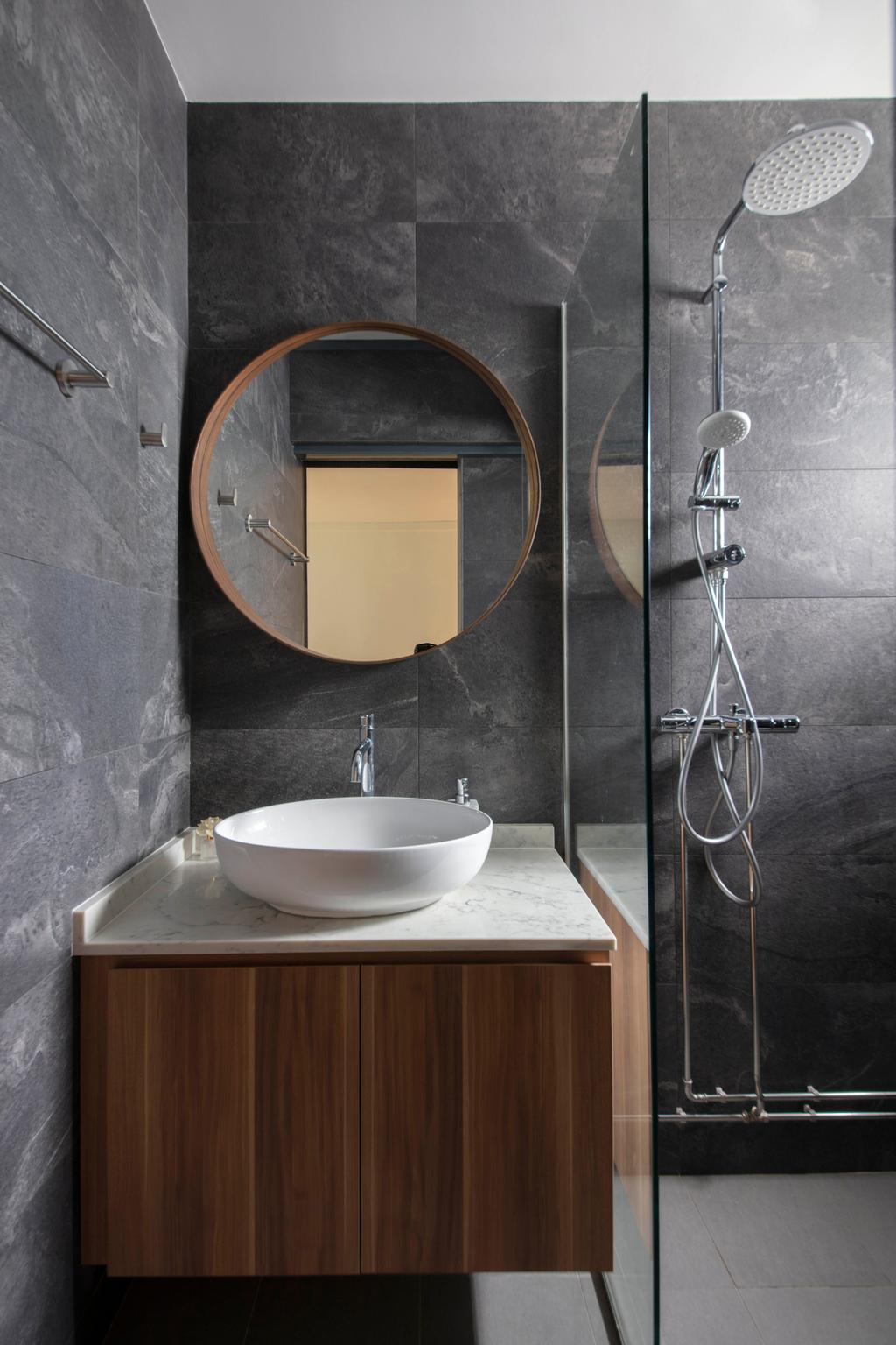Contemporary, HDB, Bathroom, Dakota Crescent, Interior Designer, ECasa Studio