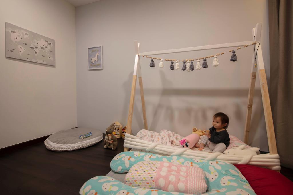 Contemporary, HDB, Bedroom, Saint George's Lane, Interior Designer, ECasa Studio, Modern