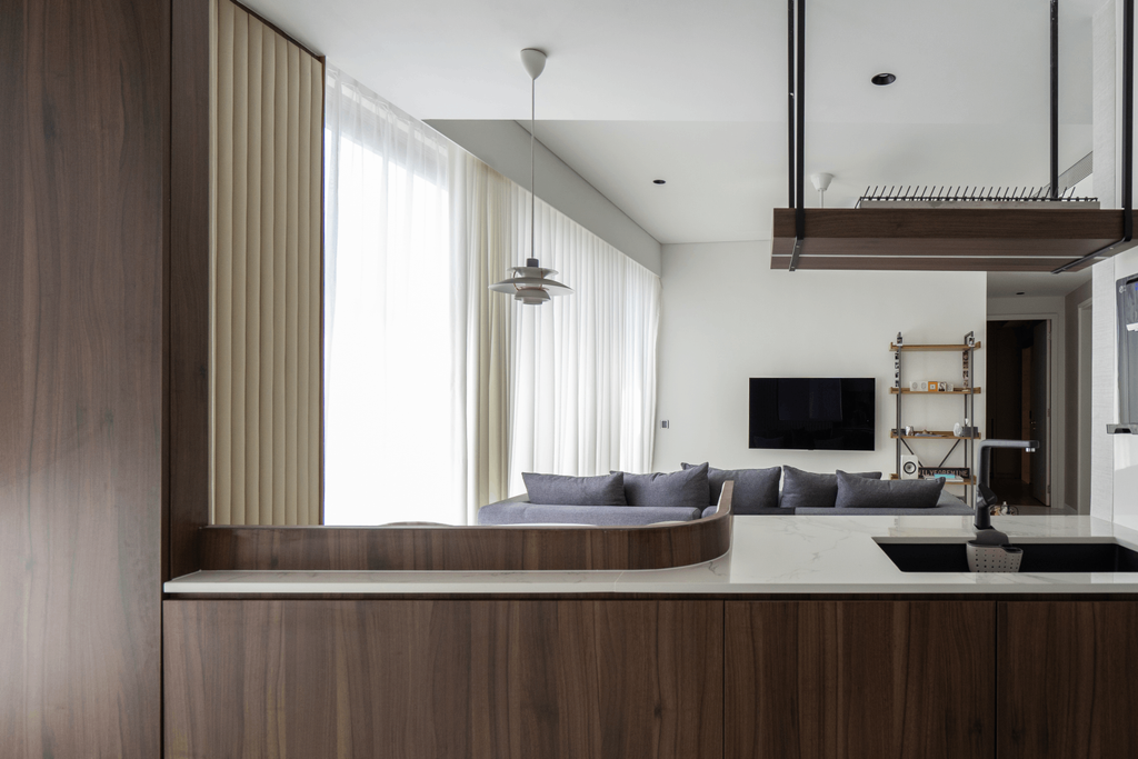 Contemporary, Condo, Living Room, Reflections at Keppel Bay, Architect, 7 Interior Architecture