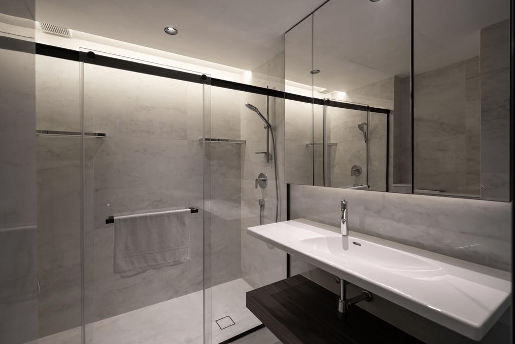 Contemporary, Condo, Bathroom, Reflections at Keppel Bay, Architect, 7 Interior Architecture