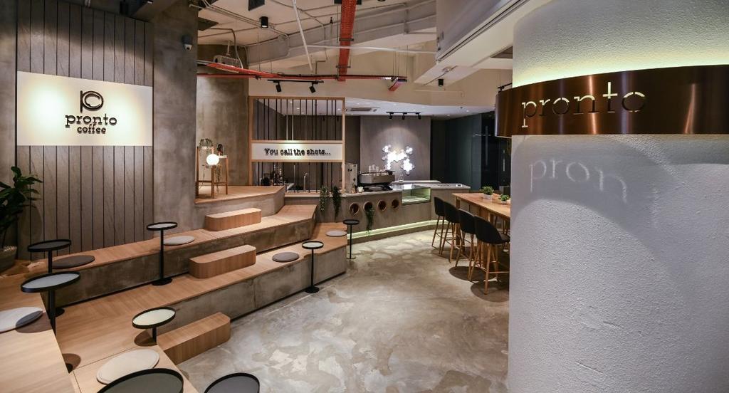Pronto Coffee, Commercial, Interior Designer, DCO Interior Design Sdn. Bhd., Modern