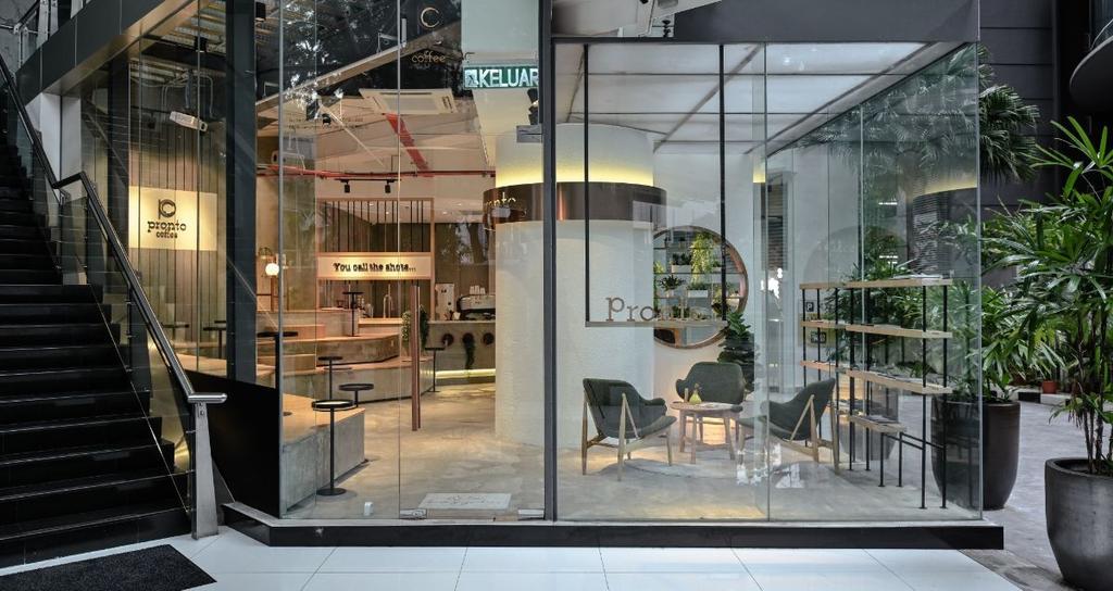 Pronto Coffee by DCO Interior Design Sdn. Bhd.