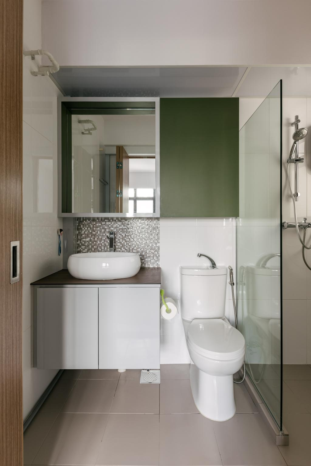 Contemporary, HDB, Bathroom, Alkaff Crescent, Interior Designer, Posh Living Interior Design, Modern