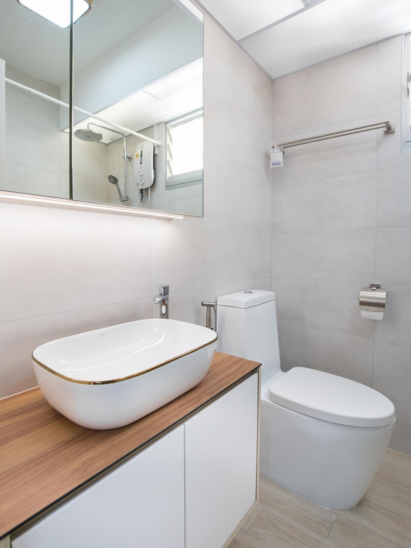 Scandinavian, HDB, Bedok North Road, Interior Designer, Ataz Haus Interior Design