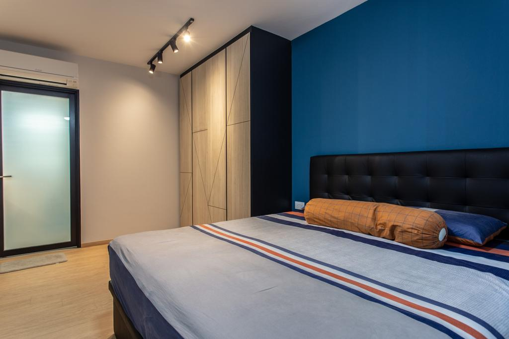 Contemporary, HDB, Bedroom, Sumang Lane, Interior Designer, Luova Project Services