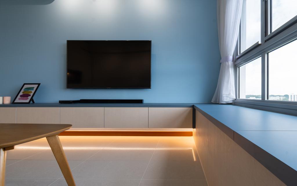 Contemporary, HDB, Tampines North Drive 1, Interior Designer, Yang's Inspiration Design