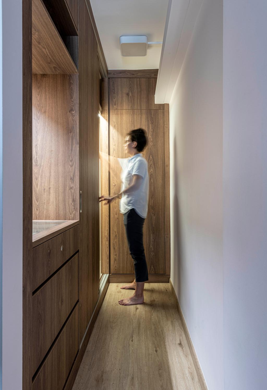 Contemporary, HDB, Bedroom, Ang Mo Kio Avenue 3, Interior Designer, Seven Heaven