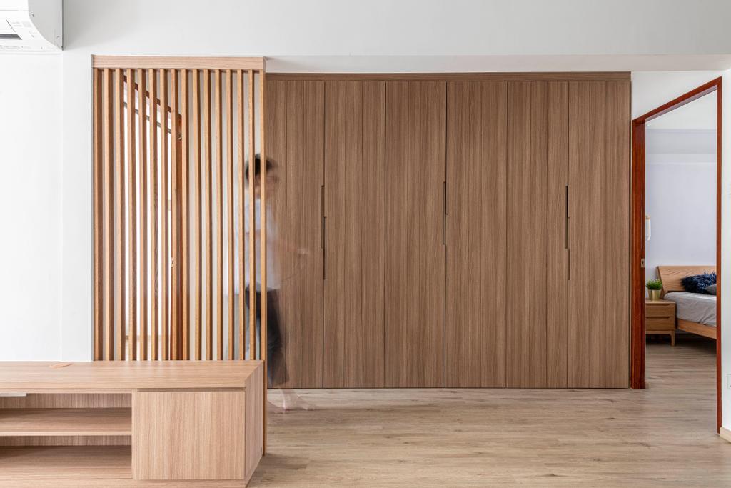 Contemporary, HDB, Living Room, Ang Mo Kio Avenue 3, Interior Designer, Seven Heaven
